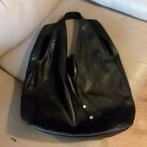 Donna Karan faux leather bag